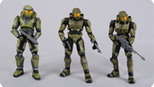 Master Chief Evolution 3-Pack
