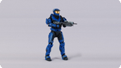 Spartan Mark V (male, team blue/team blue)