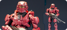 Halo 4 Spartan Warrior (Red)