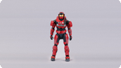 Spartan Grenadier Armor Packs (team red/team red)