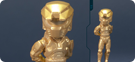 Metallic Gold Master Chief