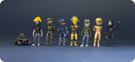 Halo Avatars Series 1 Collection - 2
