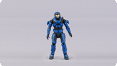 Spartan Air Assault Custom Armor Packs (team blue)