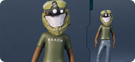 Green Operator Helmet and Reach T-Shirt