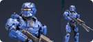 Halo 4 Spartan Warrior (Blue)