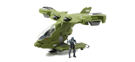 Jada Toys Halo 3 Hornet and Characters